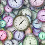 Der er mange tidsfrister i spil for tiden